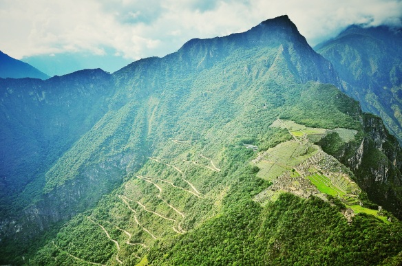 Macchu Picchu, Peru - I took this photo on my last trip here in 2011.