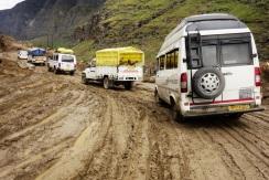 A muddy mess, India 2013.