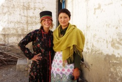 A lovely ladie in the high Himalayas who took me in, 2013.
