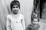 Some children in a slum I stayed in, Indian 2013.