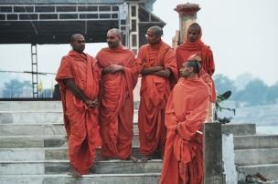Holy men, India 2013.