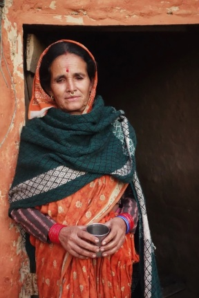 A beautiful rural women, Nepal 2013.