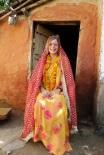 Dressed up Nepali style, 2013.