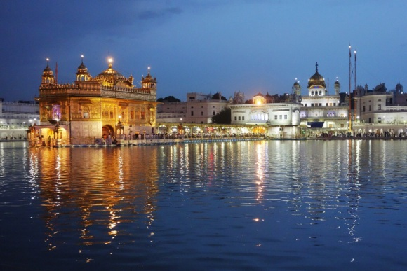The Golden Temple.