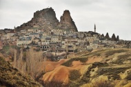 One of the villages in Cappadocia, Turkey 2014.