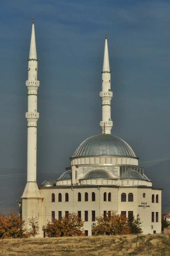 One of many mosques. We must have passed hundreds, or even thousands, during our three months in Turkey.