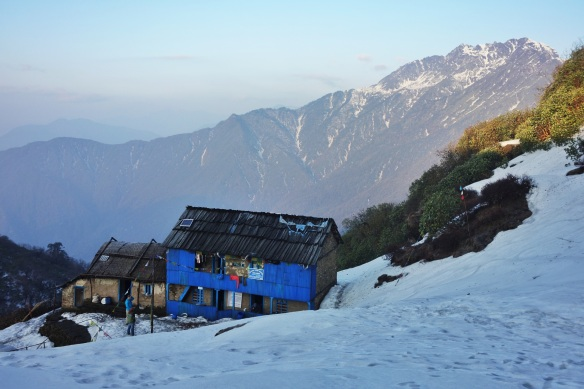 One of the tea huts on the approach to Makalu Base Camp.
