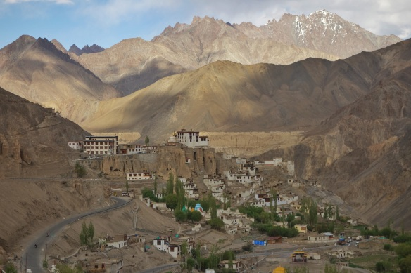 A typical Ladakhis village.