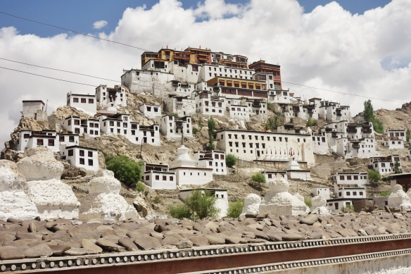 One of many monasteries throughout the region.