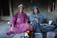 Here is a couple we stayed with in one of the small villages.