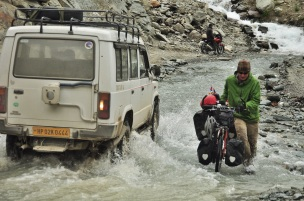 One of many river crossings throughout the Indian Himalayas, 2014.