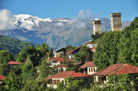 Mestia was one of our favorite regions due to the towers from the Middle Ages, and of course, the mountains!