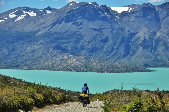 The lakes here in Patagonia are simply stunning.