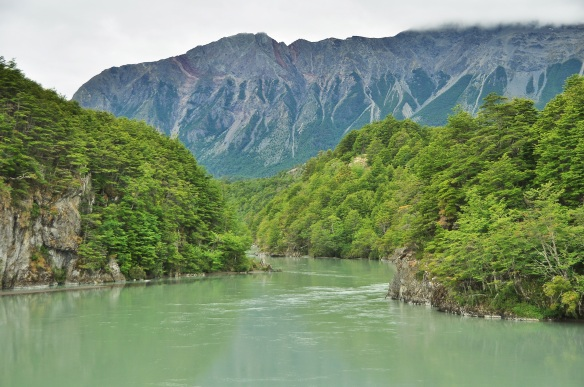 A typical scene on the Carretera Austral.
