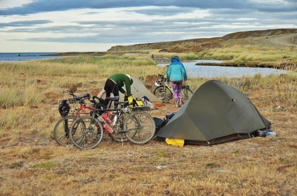 Camping in Tierra Del Fuego last week.