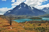 One of the bluest lakes I've ever seen, Patagonia 2015.