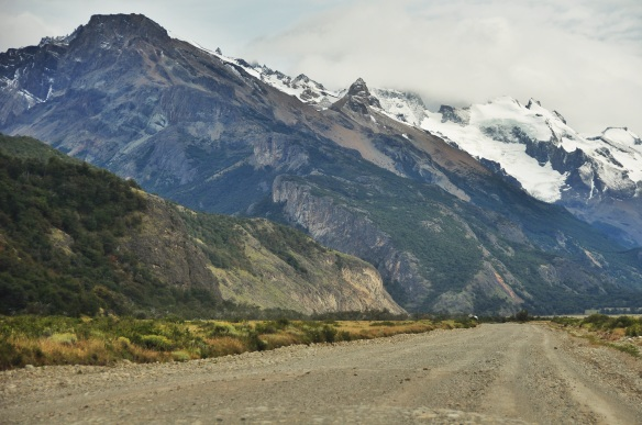 The road to the end of Argentina was beautiful as we circled around Fitzroy.