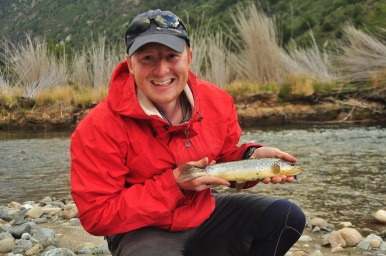 One of Kevin's many fish, Patagonia 2015.