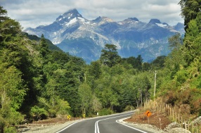 Nothing like a nicely paved road through the mountains! Chile 2015.