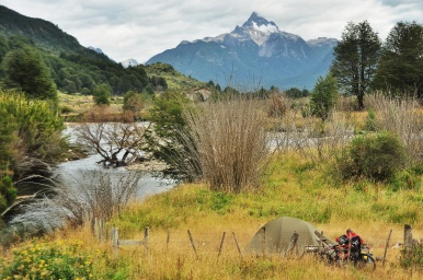 Definitely one of our best camping spots! Especially since the fishing was great. Patagonia, 2015.