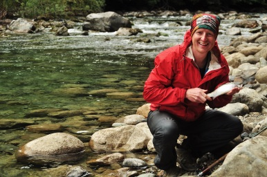 Kevin's last Patagonian catch, 2015.