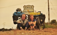Cycling the Pan American, Chile 2015.