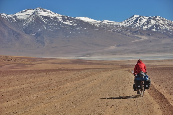 Cycling into the Andes!!