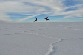 Dance party on the Salar!