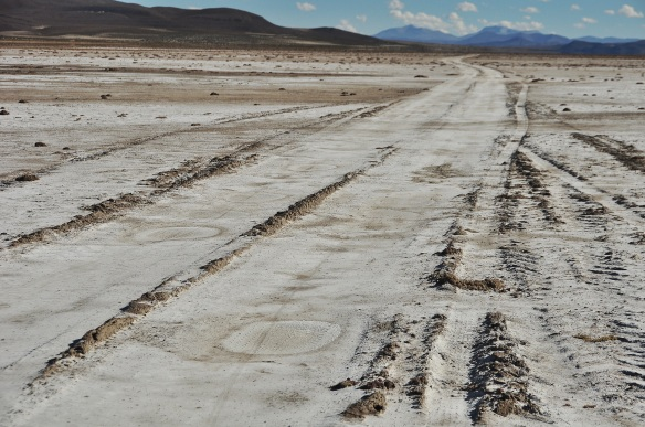 This, for us, is a road. Little jeep paths such as these are what makes Bolivia so fun!
