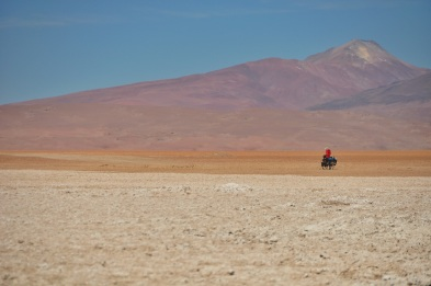 There was a whole lot of salt due to the mineral deposits throughout this region.
