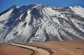 Headed into Bolivia, it's just around this corner!