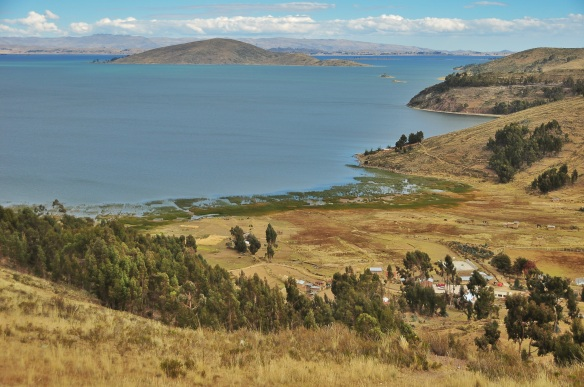 Lake Titicaca.
