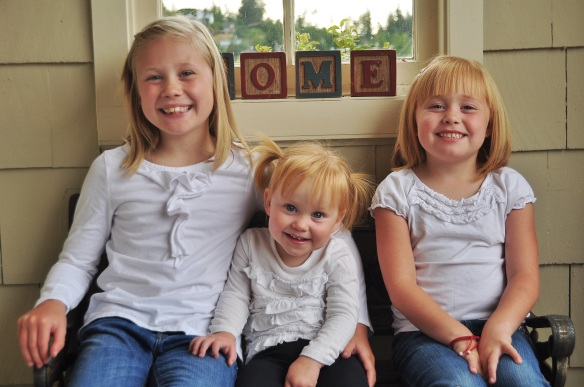 The three Dugan girls.