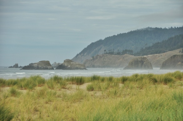 Typical Oregon coast.